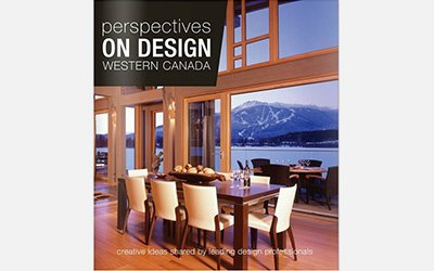 Featured in Perspectives on Design: Western Canada