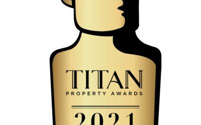 WINNER OF TITAN PROPERTY AWARDS 2021